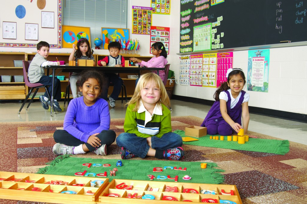 Photo of TCMPS Students learning in the classroom