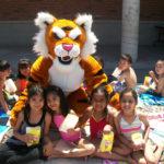 tiger & kids