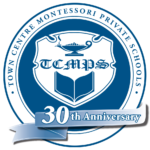TCMPS Blue Circle 30th crest for colour background