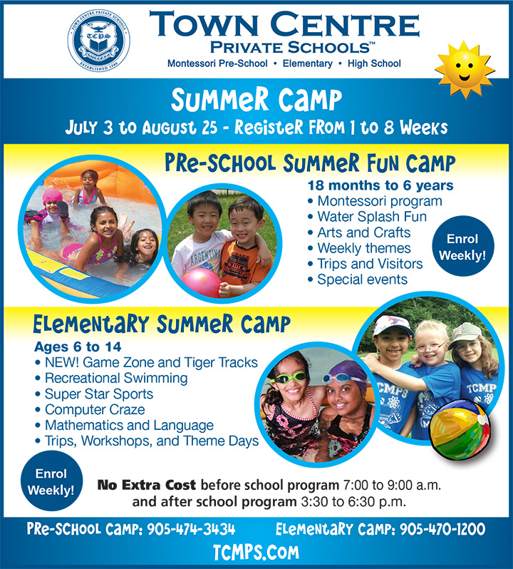 Metroland Camp only ad June 2017