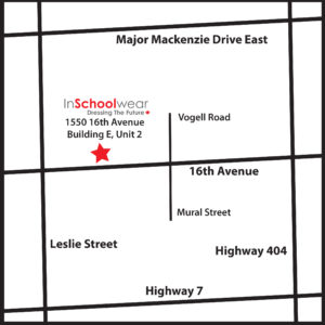 map to InSchoolwear