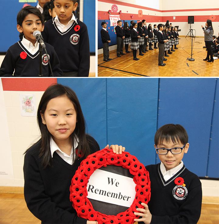 Gr. 2-6 Remembrance Day assembly