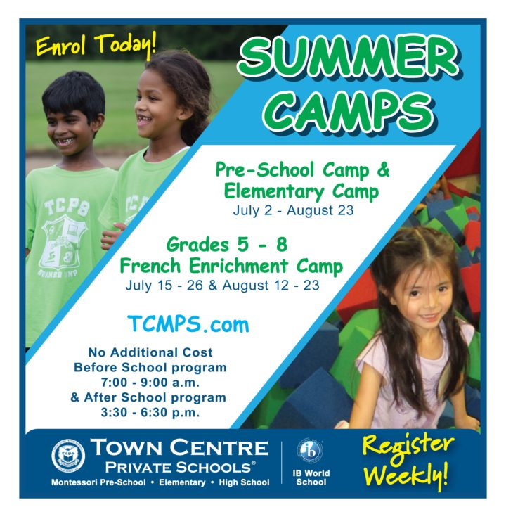 ad image for Pre-School and Elementary Summer Camps