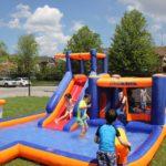TCPS Pre-School Camp water splash fun day