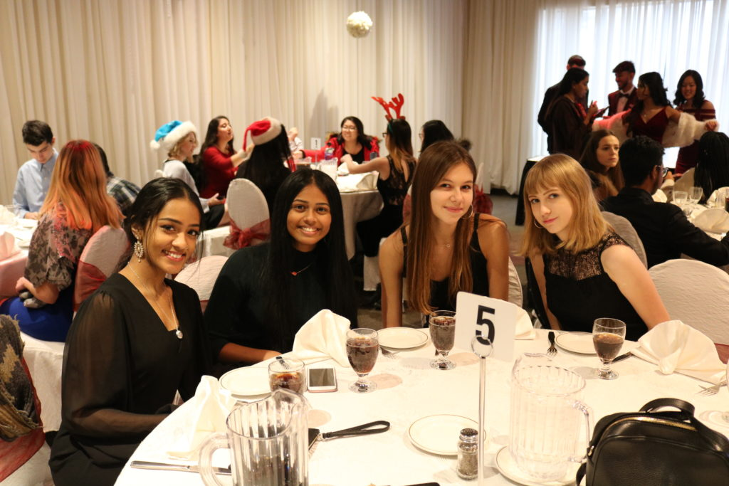 TCPS students at annual Christmas Semi-Formal Luncheon