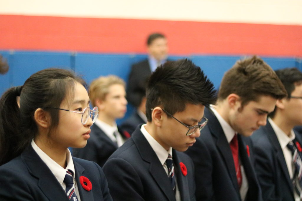 High School Remembrance Day Observances