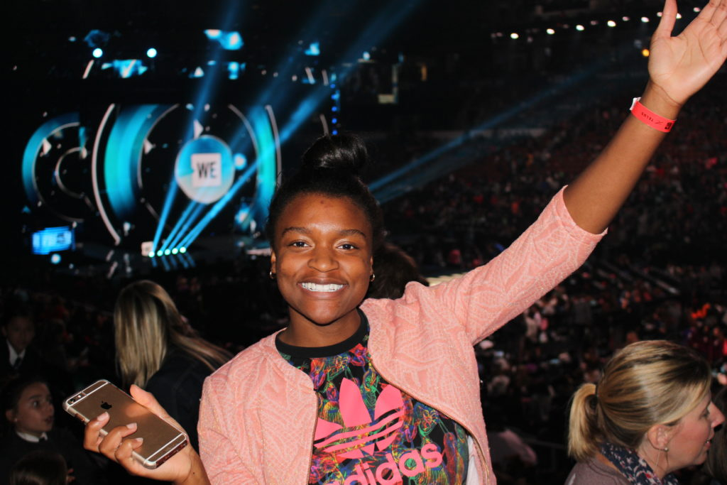 TCPS student at We Day 2018