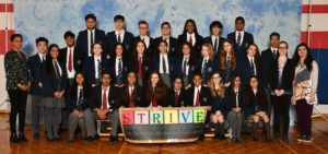 group photo of 2019 STRIVE Club