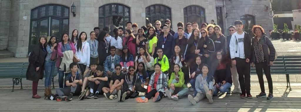 grade 8 overnight trip to Quebec City