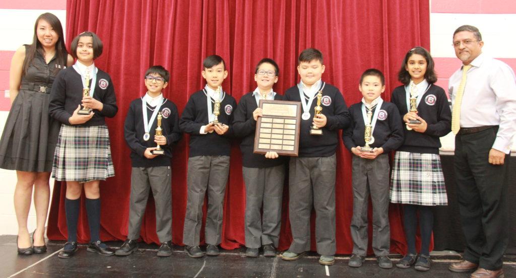 Elementary student Mathematica awards
